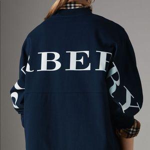 Burrberry back logo sweatshirt